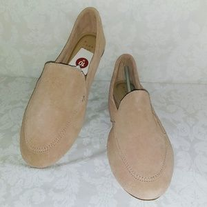a new day Shoes - Women's Mila Wide Width Suede Loafers - A New Day